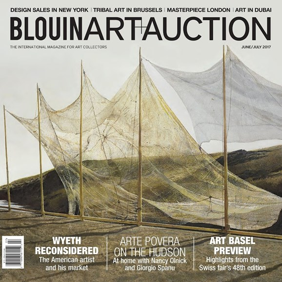 Blouin Art & Auction Cover - 6/1/2017