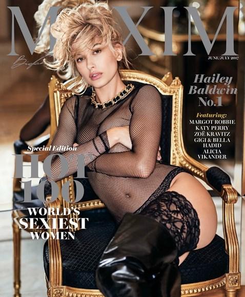 Maxim Cover - 6/1/2017