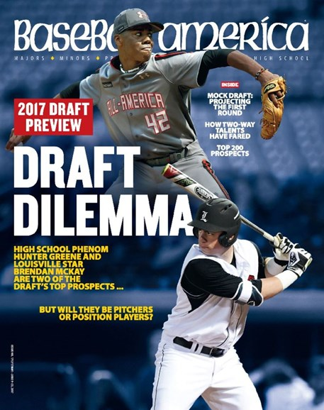 Baseball America Cover - 6/9/2017