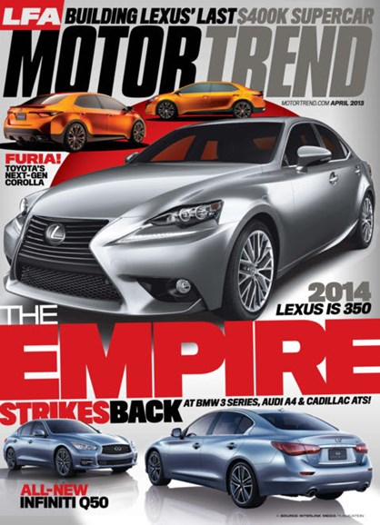 Motor Trend Cover - 4/1/2013