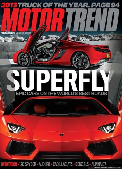 Motor Trend Cover - 2/1/2013