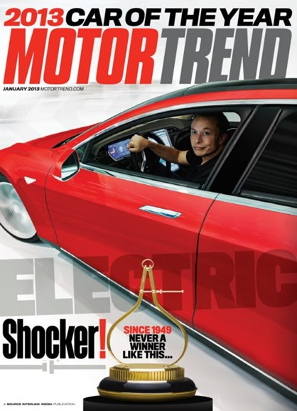 Motor Trend Cover - 1/1/2013