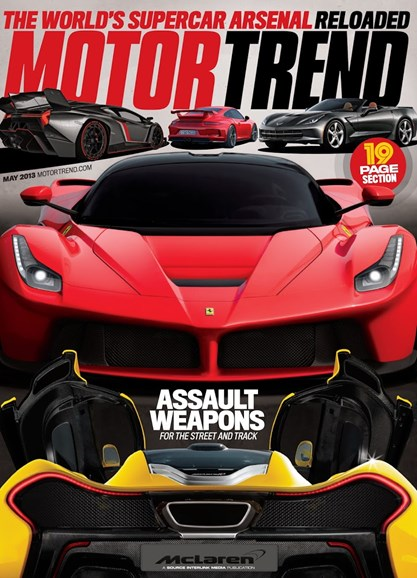 Motor Trend Cover - 5/1/2013