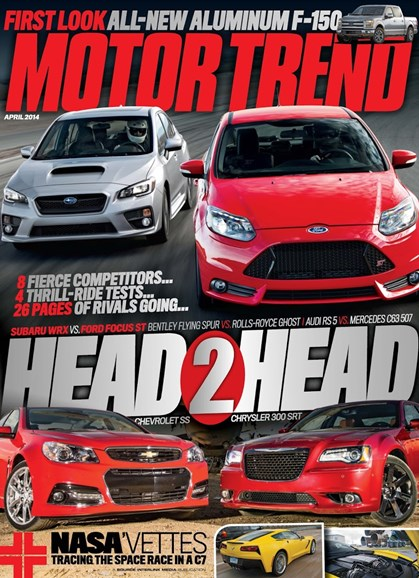 Motor Trend Cover - 4/1/2014