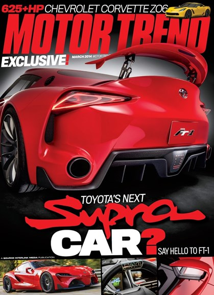 Motor Trend Cover - 3/1/2014