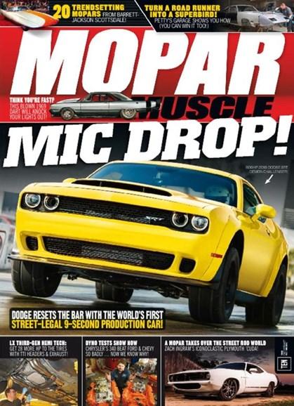 Mopar Muscle Cover - 8/1/2017