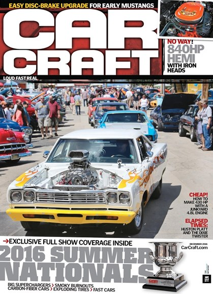 Car Craft Cover - 12/1/2016