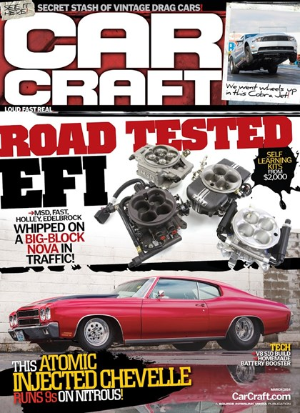 Car Craft Cover - 3/1/2014