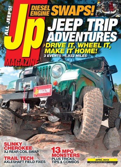 JP Magazine Cover - 4/1/2013