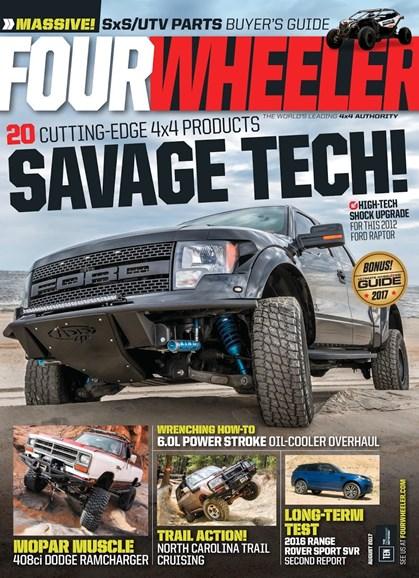 Four Wheeler Cover - 8/1/2017