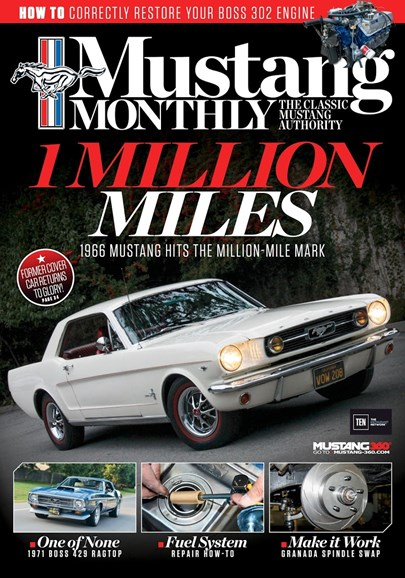 Mustang Monthly Cover - 4/1/2017