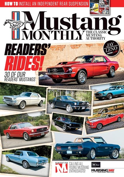 Mustang Monthly Cover - 2/1/2017