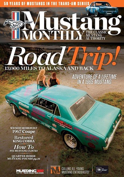 Mustang Monthly Cover - 1/1/2017
