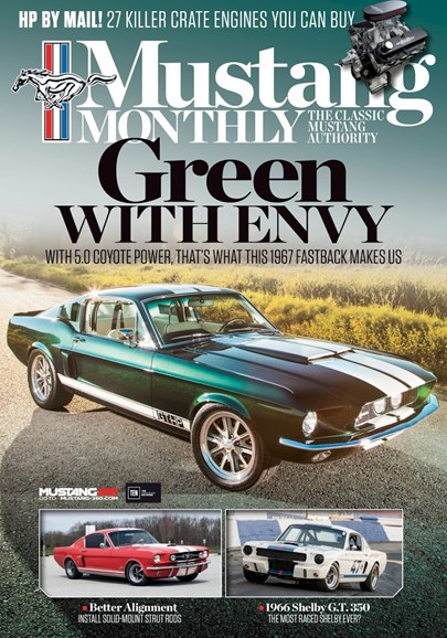 Mustang Monthly Cover - 7/1/2017