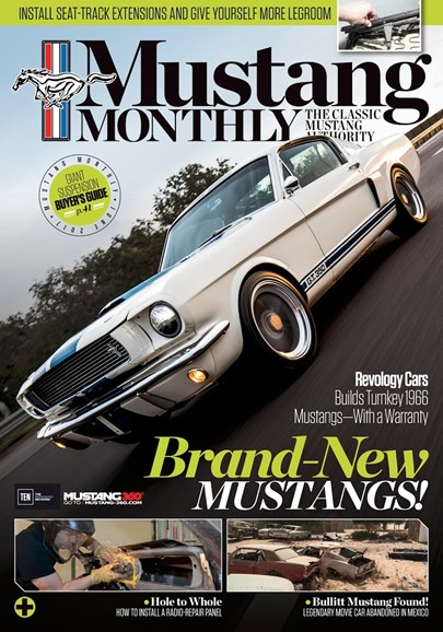 Mustang Monthly Cover - 6/1/2017