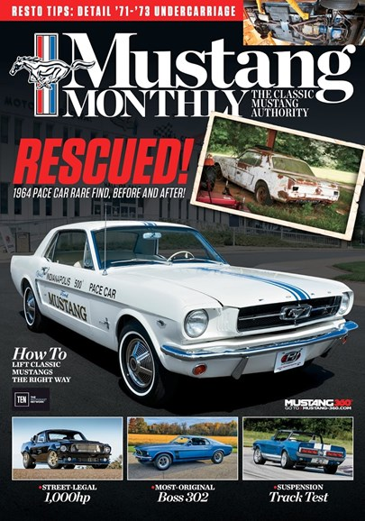 Mustang Monthly Cover - 3/1/2017