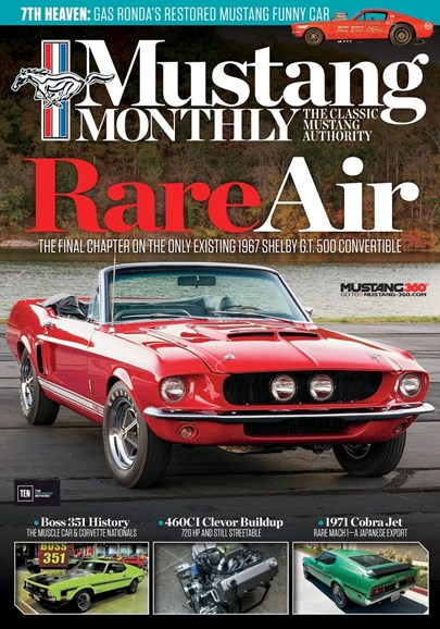 Mustang Monthly Cover - 5/1/2017