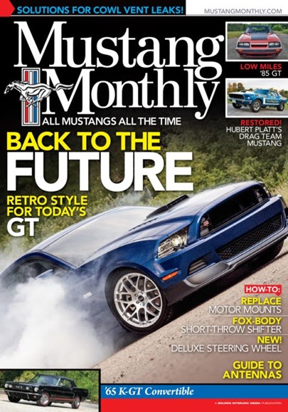 Mustang Monthly Cover - 2/1/2013