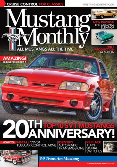 Mustang Monthly Cover - 5/1/2013