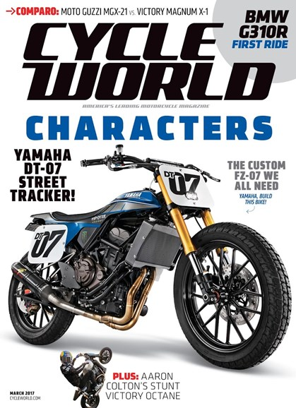 Cycle World Cover - 3/1/2017