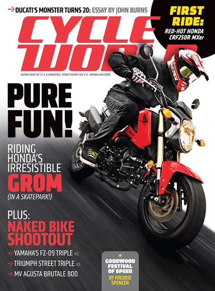 Cycle World Cover - 12/1/2013