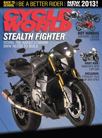 Cycle World Cover - 2/1/2013