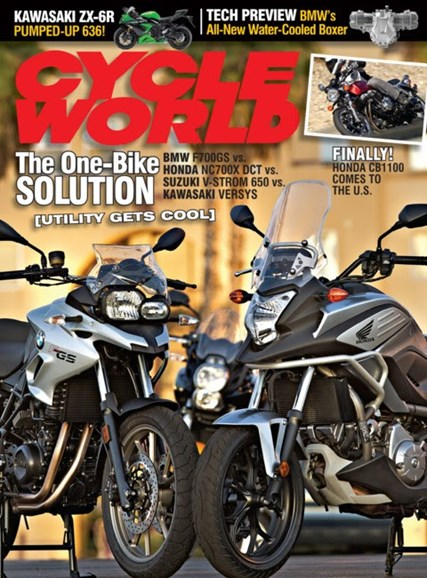 Cycle World Cover - 1/1/2013