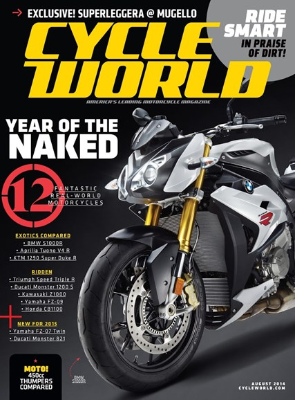 Cycle World Cover - 8/1/2014