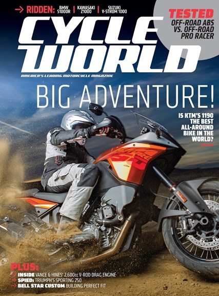 Cycle World Cover - 3/1/2014