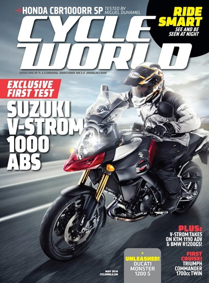 Cycle World Cover - 5/1/2014