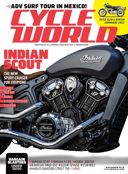 Cycle World Cover - 11/1/2014