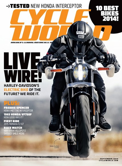 Cycle World Cover - 9/1/2014