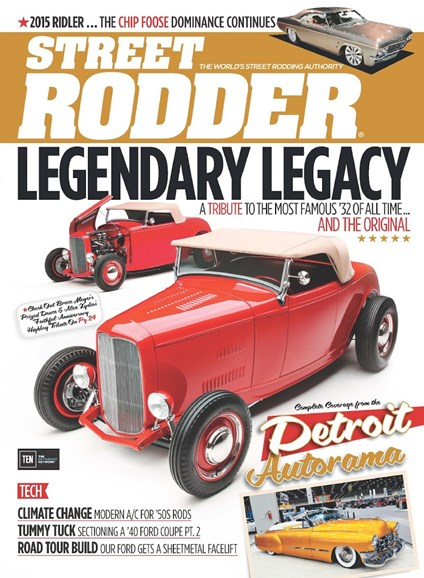 Street Rodder Cover - 8/1/2015