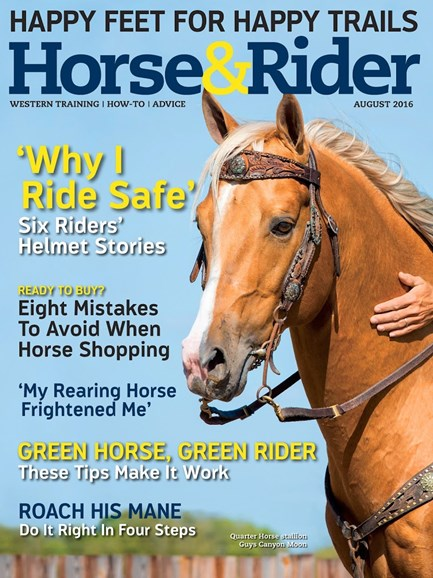 Horse & Rider Cover - 8/1/2016