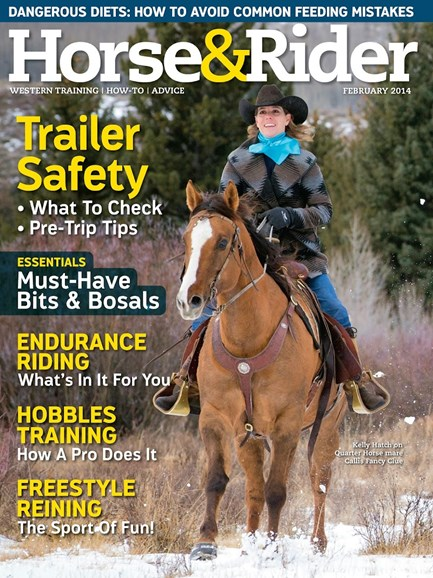 Horse & Rider Cover - 2/1/2014