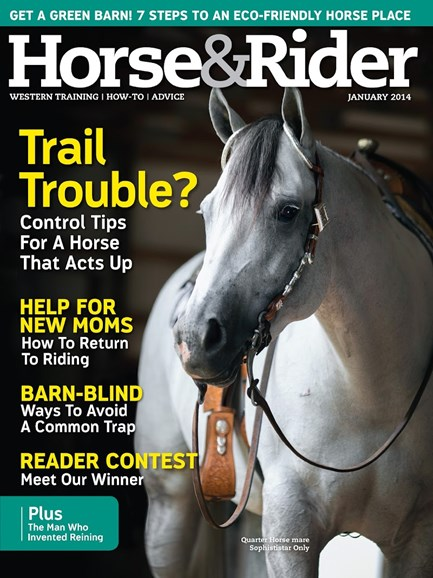 Horse & Rider Cover - 1/1/2014