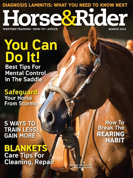 Horse & Rider Cover - 3/1/2014