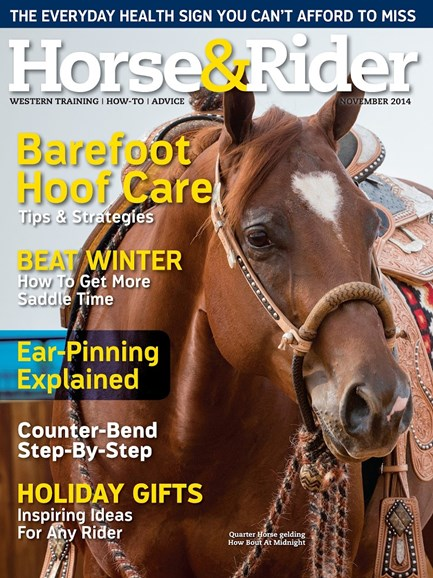 Horse & Rider Cover - 11/1/2014