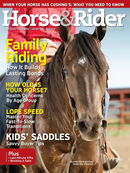 Horse & Rider Cover - 12/1/2013