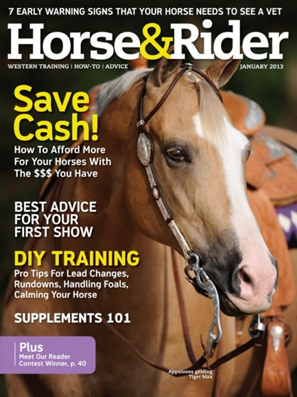 Horse & Rider Cover - 1/1/2013