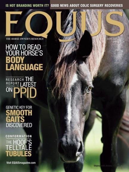 Equus Cover - 1/1/2013