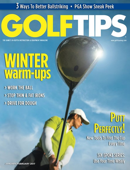 Golf Tips Cover - 1/1/2017