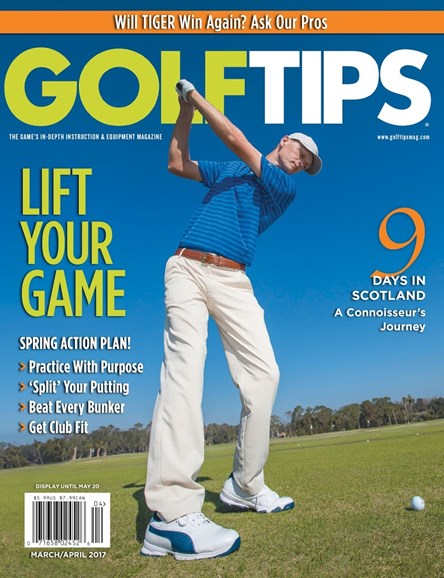 Golf Tips Cover - 3/1/2017