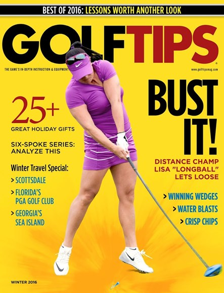 Golf Tips Cover - 12/1/2016