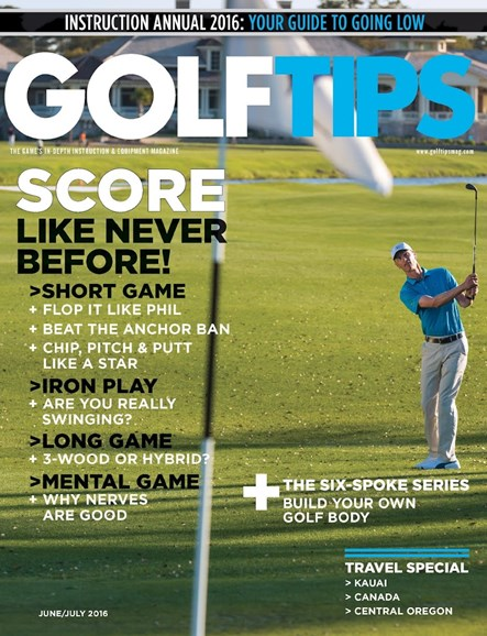 Golf Tips Cover - 6/1/2016