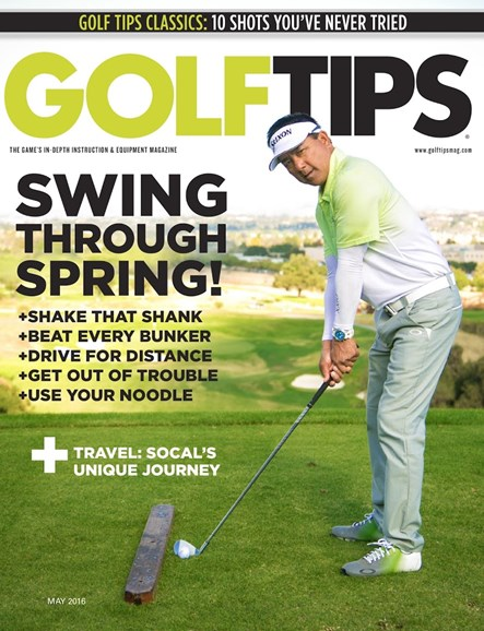 Golf Tips Cover - 5/1/2016