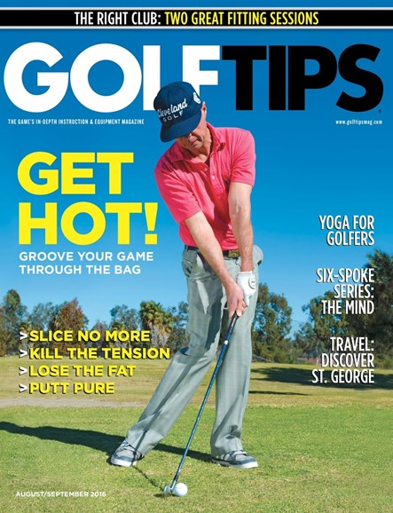 Golf Tips Cover - 9/1/2016