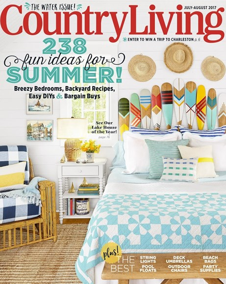 Country Living Cover - 7/1/2017