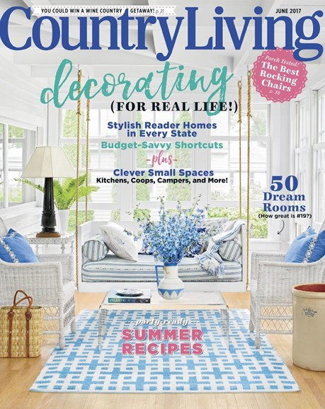 Country Living Cover - 6/1/2017