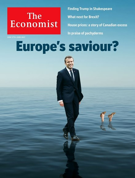 The Economist Cover - 6/17/2017